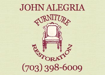 Furniture Repairing - Alegria Furniture Restoration.